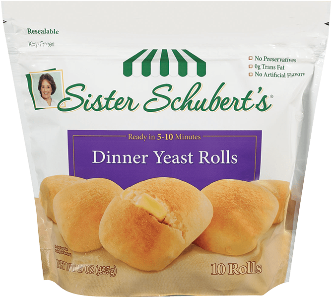 sister schuberts dinner yeast rolls 10 count - Sister Schubert's® Dinner Yeast Rolls 10 Count