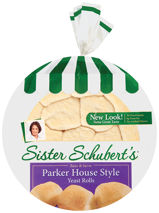 sister schuberts parker house style yeast rolls - Sister Schubert's® Parker House Style Yeast Rolls