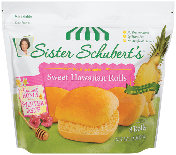 Hawaiian Rolls Nutrition Calories Sister Schubert S