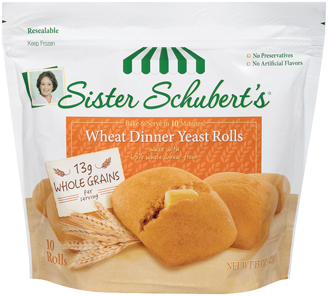 Whole Wheat Rolls Nutrition Calories Sister Schubert S