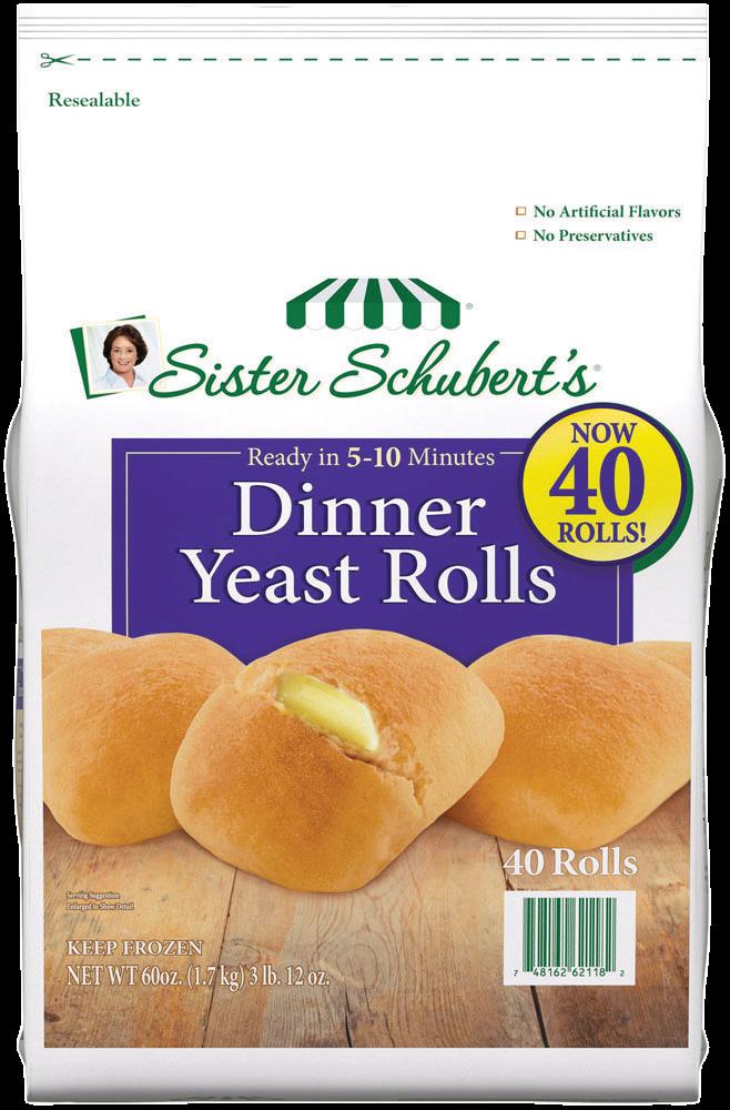 Sister Schubert S Dinner Yeast Rolls 40 Count Sister Schubert S